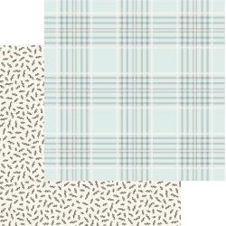 MME Gingham Gardens Double-Sided Cardstock 12X12 Georgia