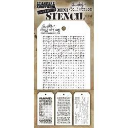 TH MINI LAYERED STENCIL Set #48