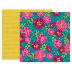 Pink Paislee And Many More Double-Sided Cardstock 12X12 #3