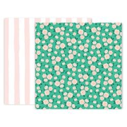 Pink Paislee And Many More Double-Sided Cardstock 12X12 #6