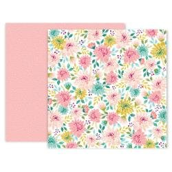 Pink Paislee And Many More Double-Sided Cardstock 12X12 #9