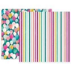 Pink Paislee And Many More Double-Sided Cardstock 12X12 #12