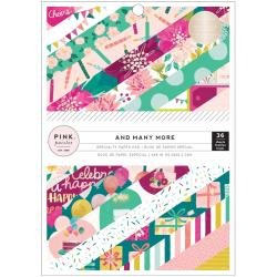 Pink Paislee Single-Sided Paper Pad 6X8 36/Pkg And Many More
