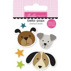 Bella Blvd Cooper Bella-Pops 3d Stickers Pups
