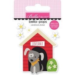 Bella Blvd Cooper Bella-Pops 3d Stickers Doghouse
