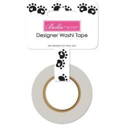 Bella Blvd Cooper Washi Tape .625X30' Paw Prints