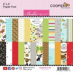 Bella Blvd Double-Sided Paper Pad 6X6 24/Pkg Cooper