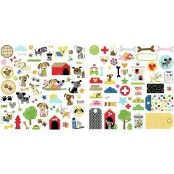 Bella Blvd Cardstock Ephemera Icons, Cooper