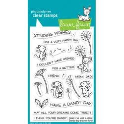 Lawn Fawn Clear Stamps 4X6 Dandy Day