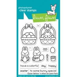 Lawn Fawn Clear Stamps 3X4 Easter Before 'n Afters