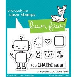 Lawn Fawn Clear Stamps 3X2 Charge Me Up