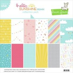 Lawn Fawn Double-Sided Collection Pack 12X12 12/Pkg Hello Sunshine Remix 6 Designs