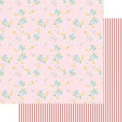 Fancy Pants A Cherry On Top Double-Sided Cardstock 12X12 Sweet Floral