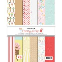 Fancy Pants Designs Double-Sided Paper Pad 6X8 24/Pkg A Cherry On Top
