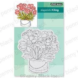 Penny Black Cling Stamps Blooming Bunch