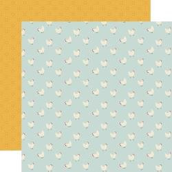 Echo Park Farmhouse Kitchen Double-Sided Cardstock 12X12 Hungry Hens