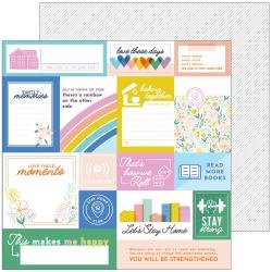 *pre-order*  Pink Fresh Studios Let's Stay Home Double-Sided Cardstock 12X12 Hold On