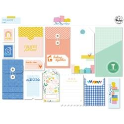 PinkFresh Let's Stay Home Journaling Bits 13/Pkg