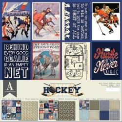 Authentique All-Star Paper Pack Hockey