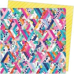 Paige Evans Go The Scenic Route Dbl-Sided Cardstock 12X12 #8