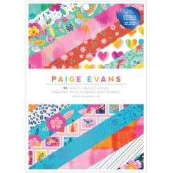 AC Single-Sided Paper Pad 6X8 36/Pkg Paige Evans Go The Scenic Route