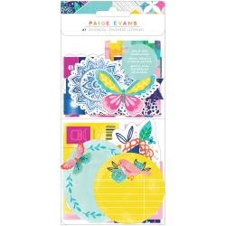 Paige Evans Go The Scenic Route Ephemera Cardstock Die-Cuts Journal