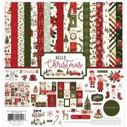 Carta Bella Collection Kit 12X12 Hello Christmas