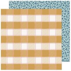 Maggie Holmes Marigold Double-Sided Cardstock 12X12 Sweet Sunshine