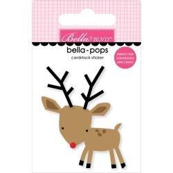 Bella Blvd Fa La La Bella-Pops 3D Stickers Reindeer