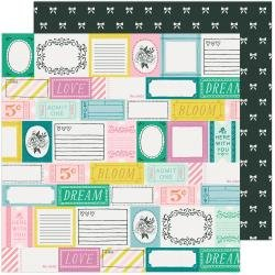 CP Maggie Holmes Garden Party Double-Sided Cardstock 12X12 Garden Stroll