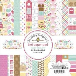 Doodlebug Double-Sided Paper Pad 6X6 24/Pkg Made With Love