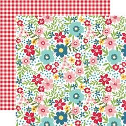 Echo Park A Slice Of Summer Double-Sided Cardstock 12X12 Summer Floral