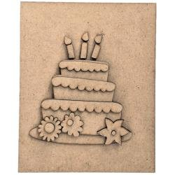 Foundations Decor Magnetic Block Countdown Calendar Birthday/Wedding