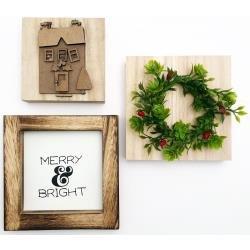 Foundations Decor Tiered Tray Themed Kits December