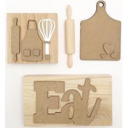 Foundations Decor Tiered Tray Themed Kits Kitchen