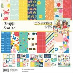 Simple Stories Collection Kit 12X12 Sunkissed