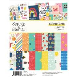 Simple Stories Double-Sided Paper Pad 6X8 24/Pkg Sunkissed