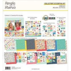 Simple Stories Collector's Essential Kit 12X12 Sunkissed