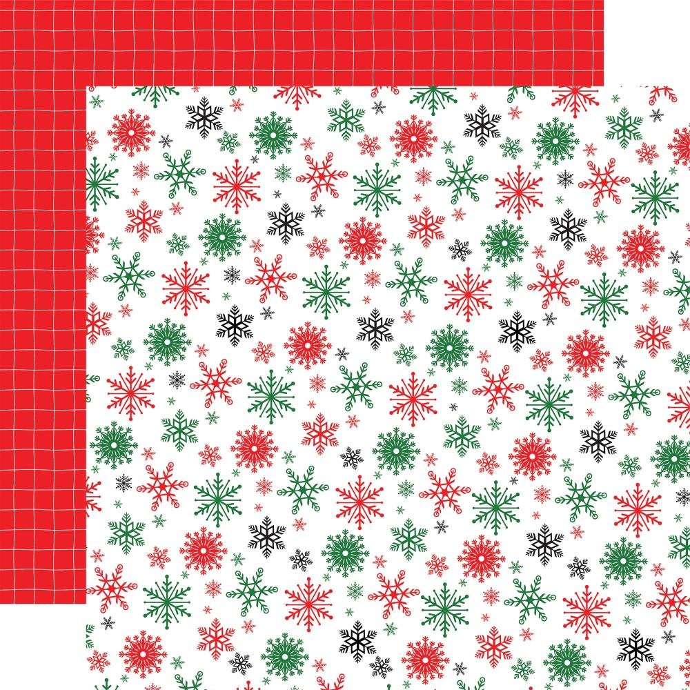 Carta Bella Christmas Cheer Double-Sided Cardstock 12X12 Happy Holidays