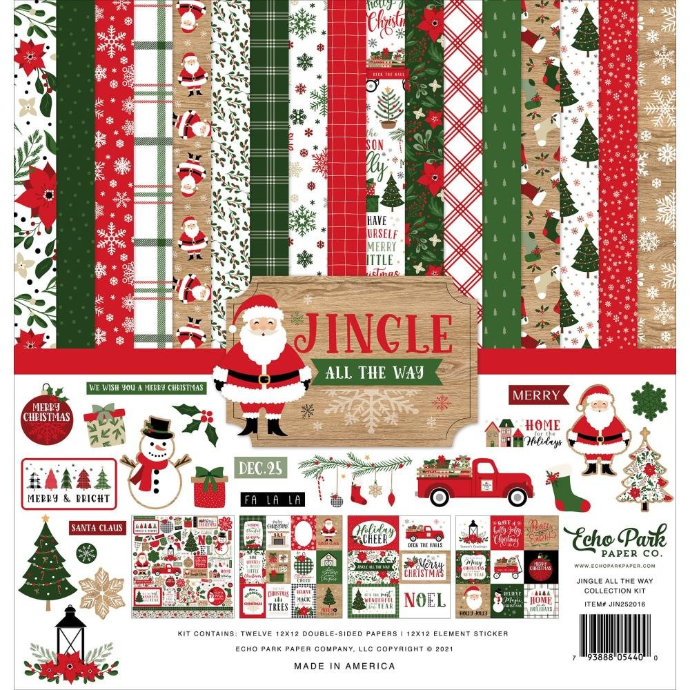 Echo Park Collection Kit 12X12 Jingle All The Way