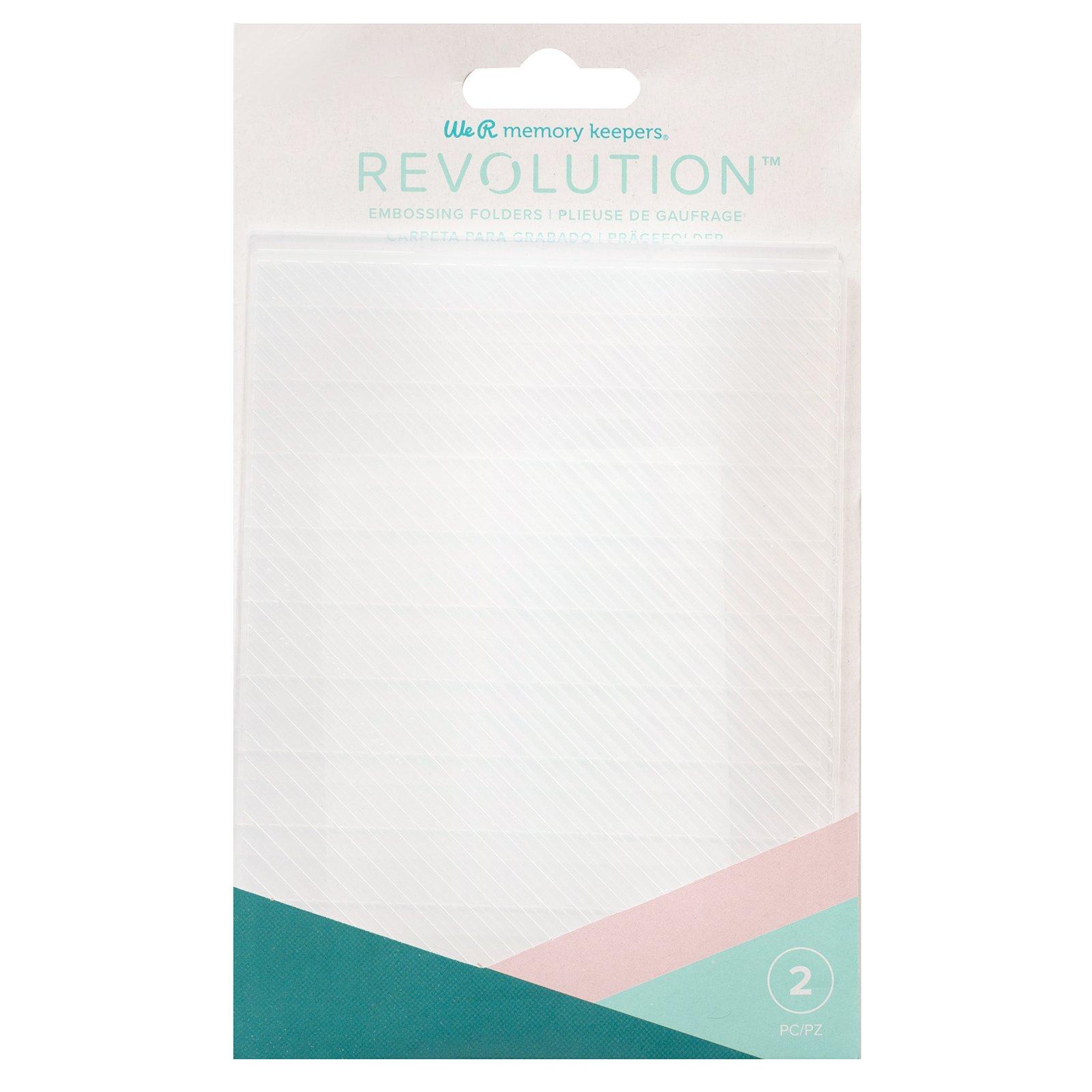 We R Memory RevEmbossing Folders (2) Basic Stripes