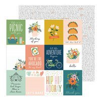 PB JH This Is Family Collection - 12 x 12 Double Sided Paper - Fun Times