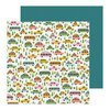 PB JH This Is Family Collection - 12 x 12 Double Sided Paper - Road Trip