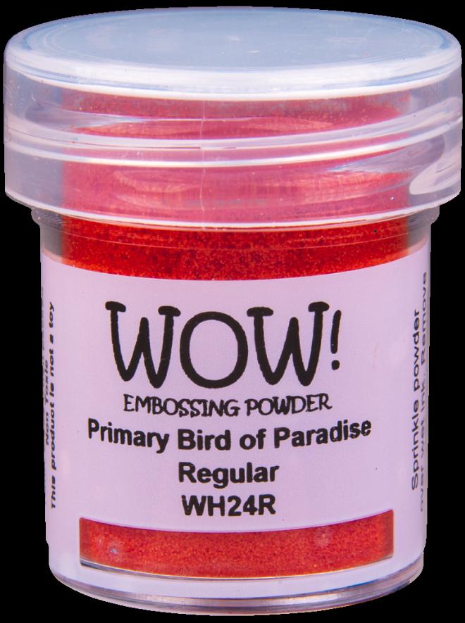 WOW! Embossing Powder 15ml Primary Bird Of Paradise