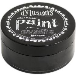 DYLUSIONS PAINT:  Black Marble