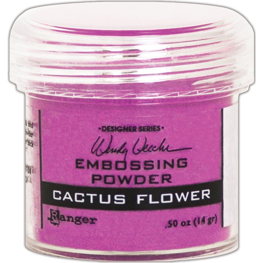 Wendy Vecchi Embossing Powder .63oz Cactus Flower