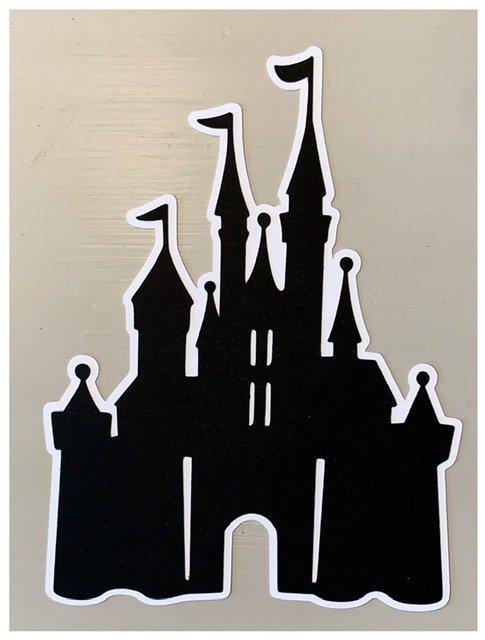 Just Add Photos- Castle (Black, White)