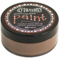 DYLUSIONS PAINT: Melted Chocolate