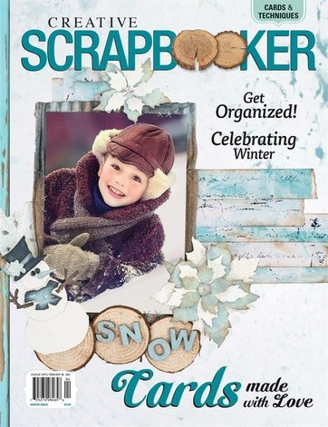 CREATIVE SCRAPBOOKER MAGAZINE Winter 2020
