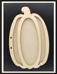 Clear Scraps Pumpkin Wood Accordion Shaker Album
